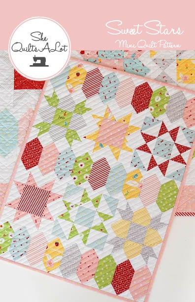 Image of Sweet Stars Mini PDF Pattern