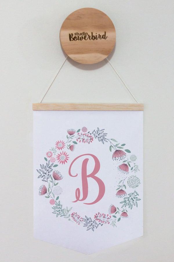 Image of Floral Letter | banner