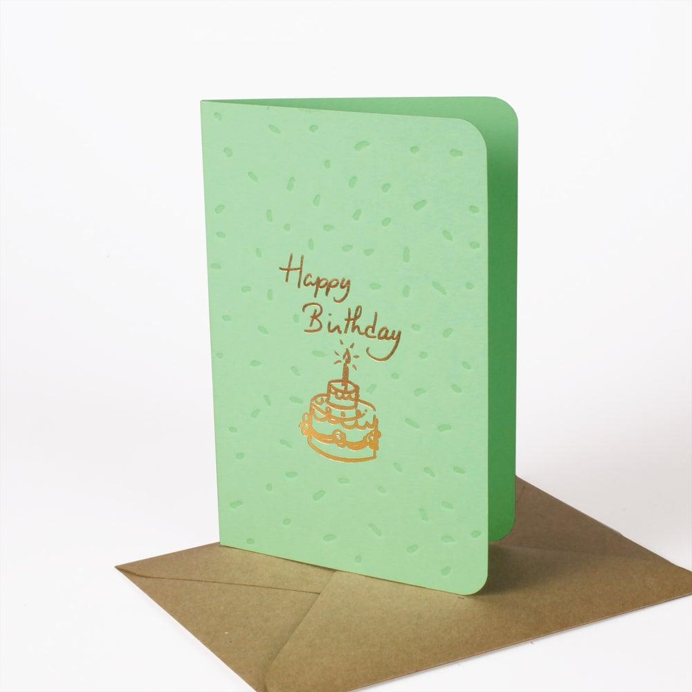 Image of Carte BIRTHDAY CAKE