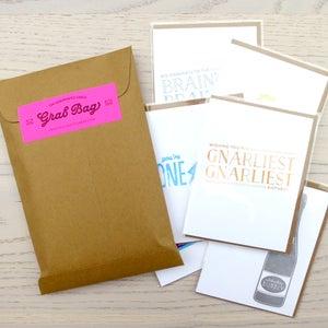 Image of greeting card grab bag