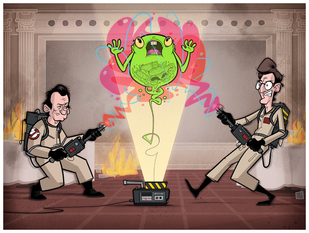 Image of Ghostbusters Print