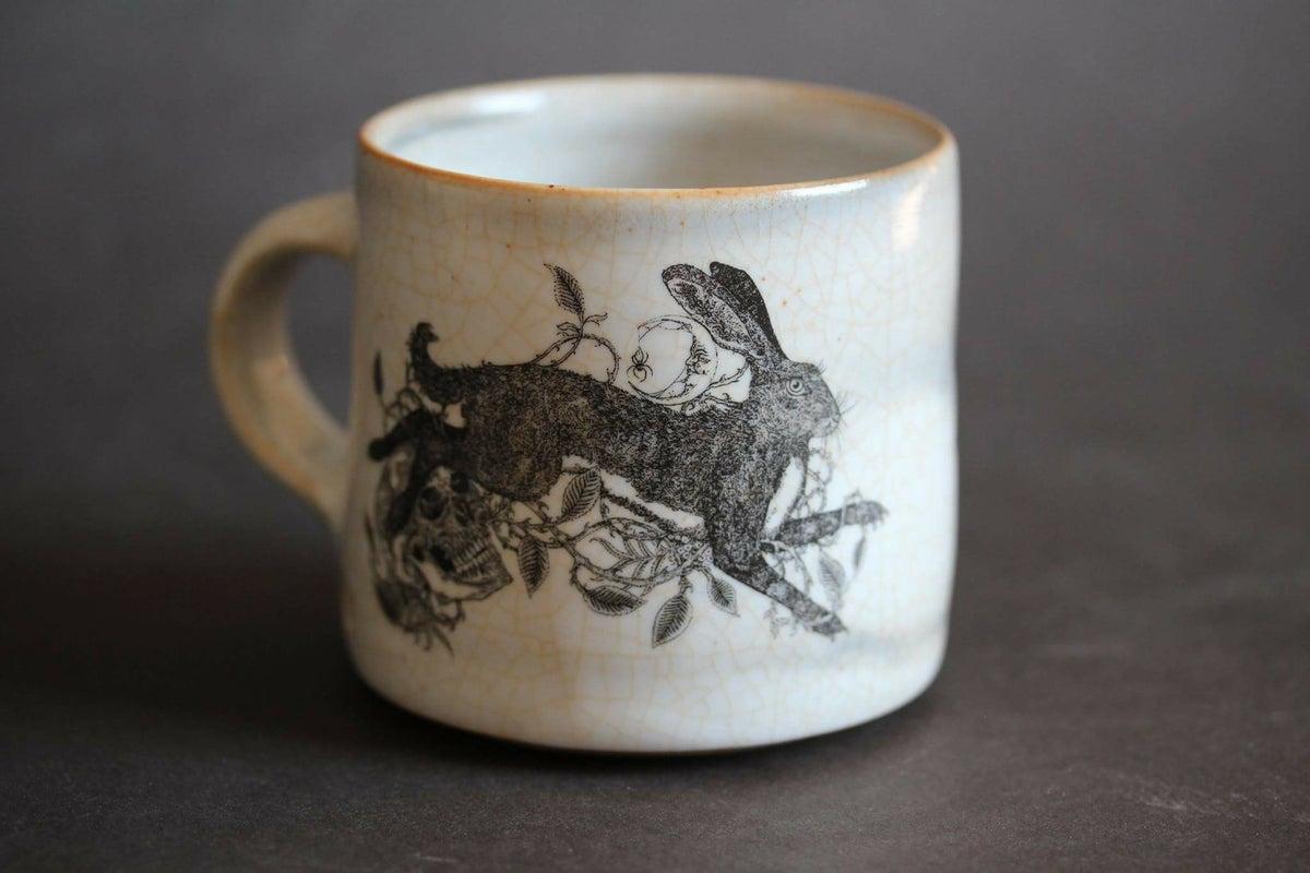 Brambles Rowan And The Hare Ceramic Mug Sin Eater