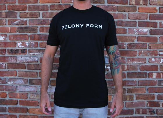 Image of Felony Form T-shirt in Black