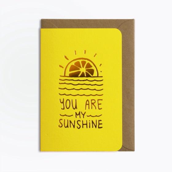 Image of Carte sunshine