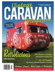 Image of Issue 29 Vintage Caravan Magazine