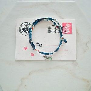 Image of Mother of pearl dog bracelet