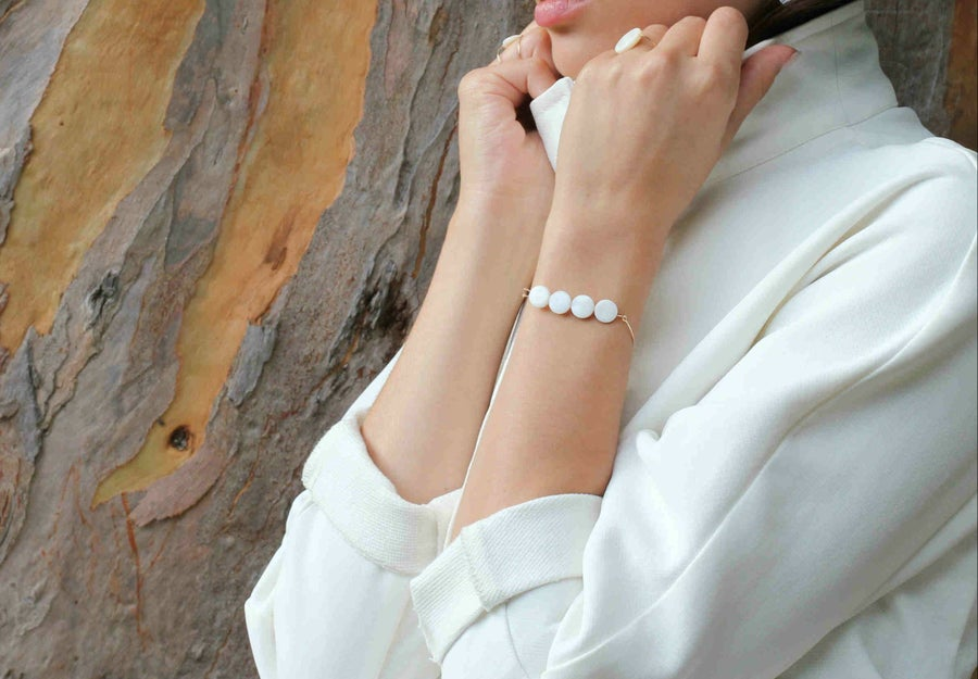 Image of Bracelet Daughter-of-pearls