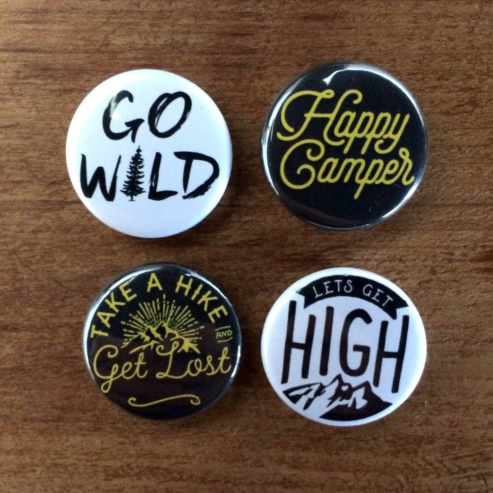 Image of Adventure badge pack