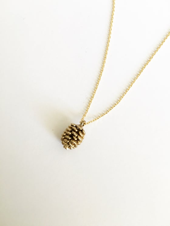 Image of Pine cone necklace