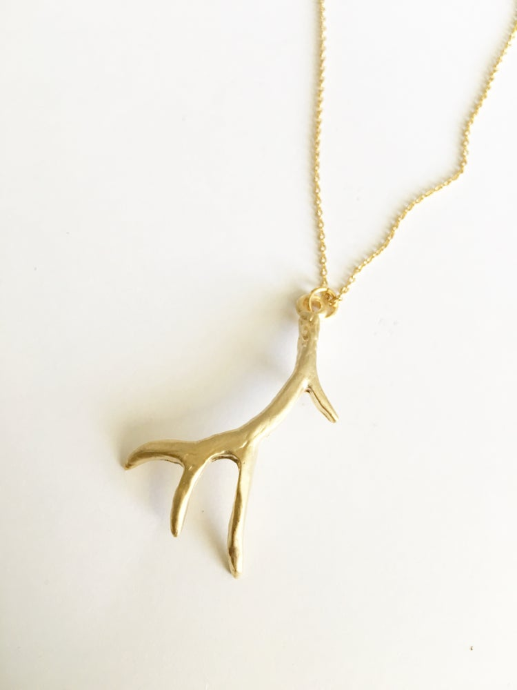 Image of Antler necklace
