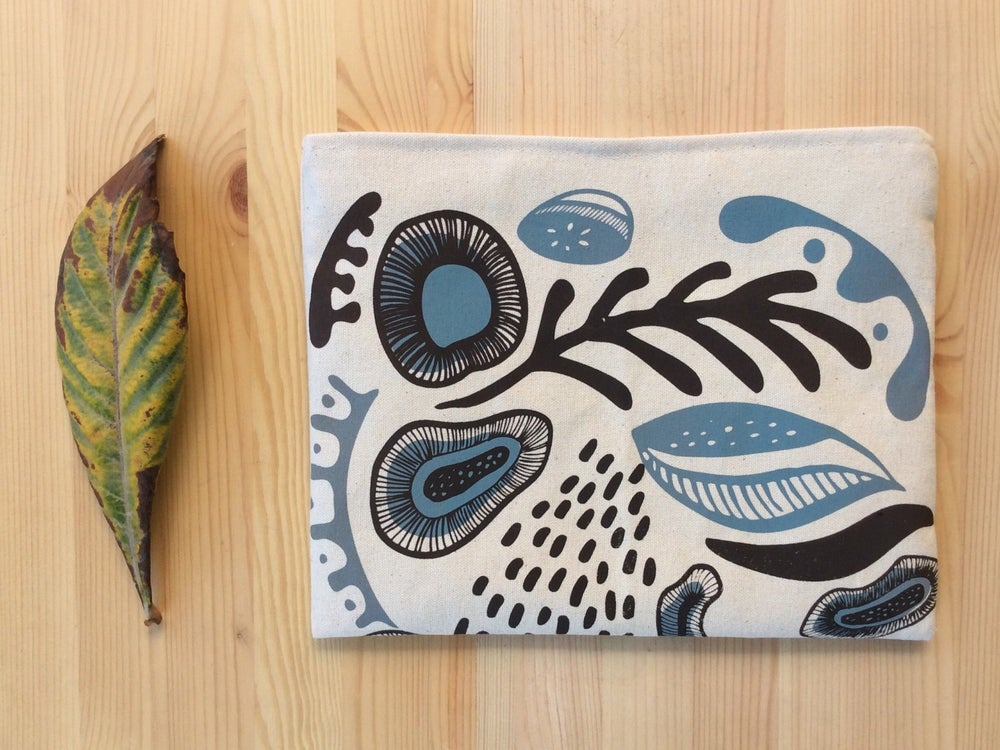 Image of Screen printed clutch purse