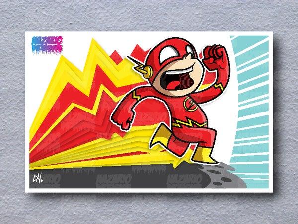 Image of The Flash 11 x 17 print