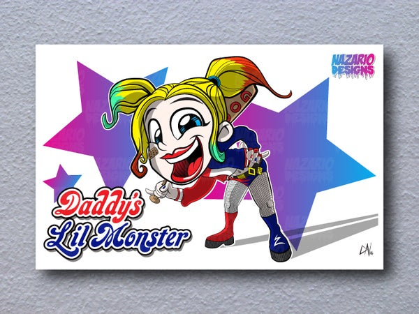 Image of Harley Quinn 11 x 17 print