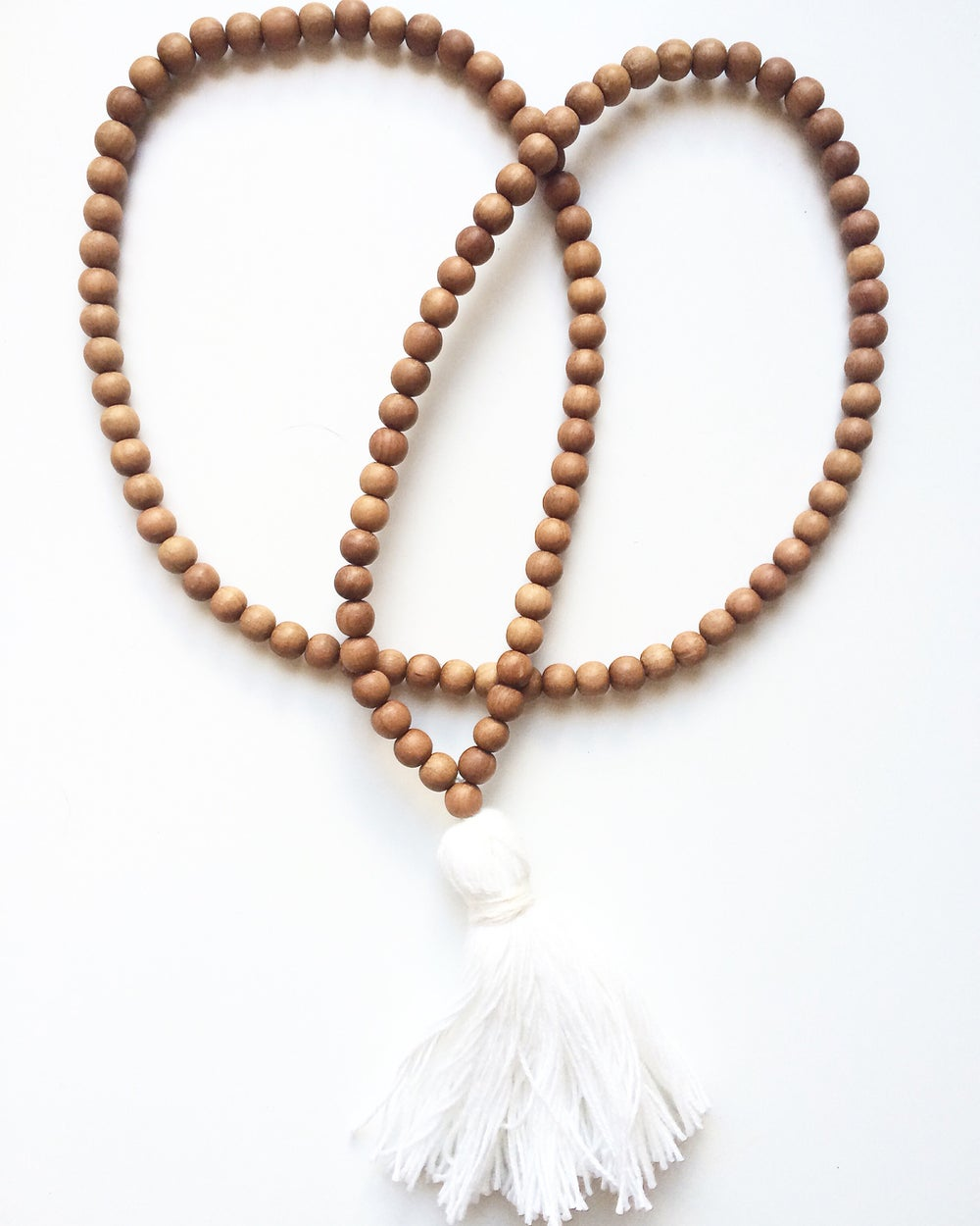 Image of Zen Full Sandalwood Teething Necklace