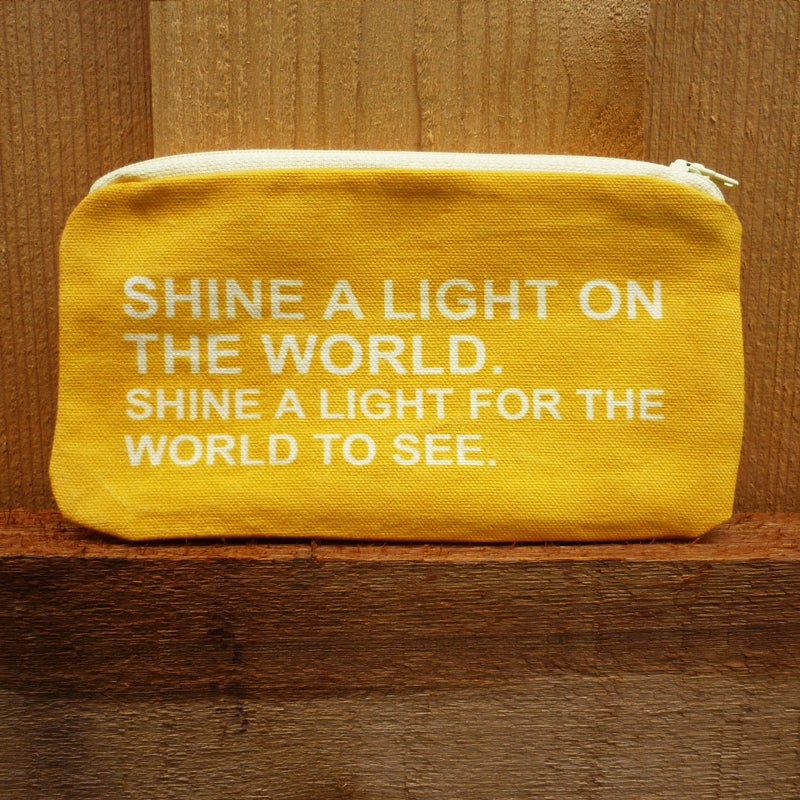 "Image of ""Vintage"" Shine a Light Accessory Bag"