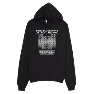 Image of Periodic Table of Techno Elements Hoodie-Black