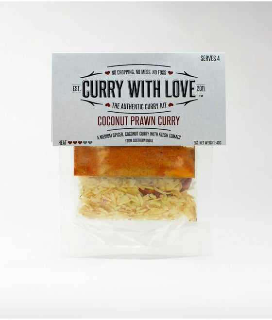 Image of Coconut Prawn Curry