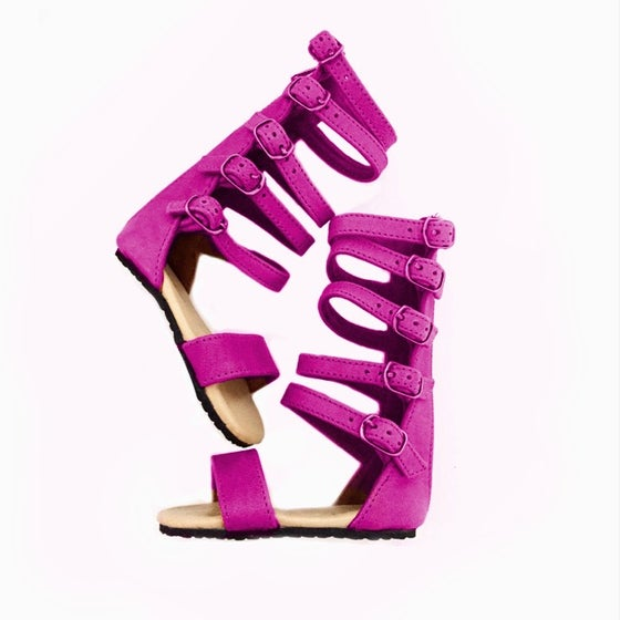 Image of Nahla sandal - Bright PINK