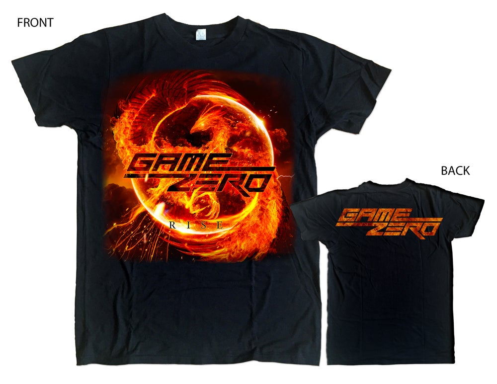 Image of GAME ZERO - RISE -Tshirt