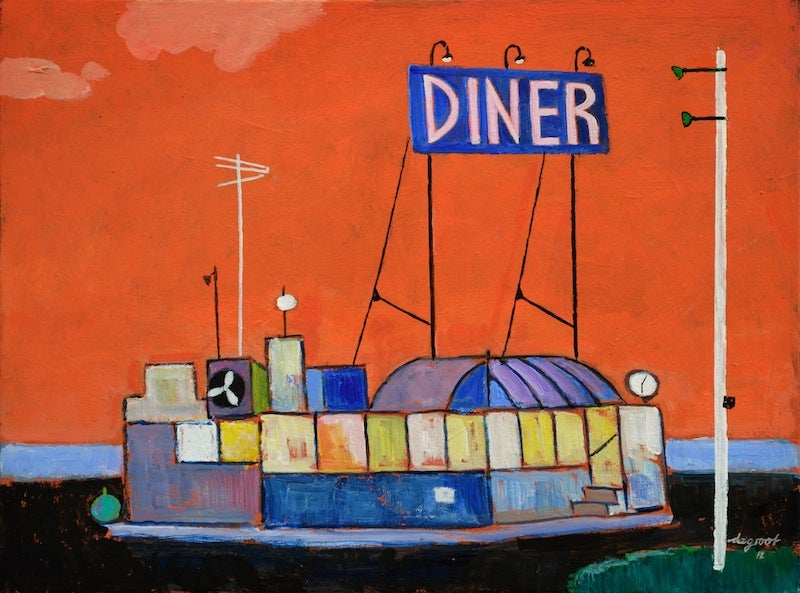 """Image of """"The Diner"""" by Dick de Groot #67"""