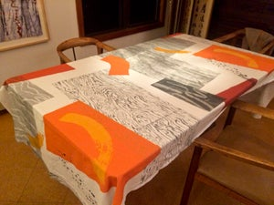 Image of Tablecloth and Table Runner