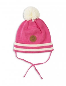 Image of Stripe Hat, pink, Mini Rodini (40€) -60%