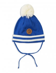Image of Stripe Hat, blue, Mini Rodini (40€) -60%