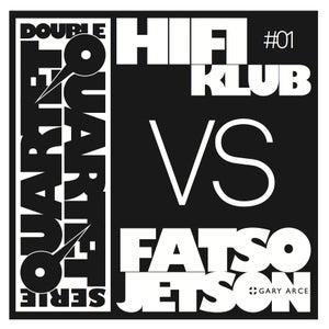 Image of Hifiklub vs Fatso Jetson + Gary Arce - Double Quartet Serie #1 - Cd Digipak
