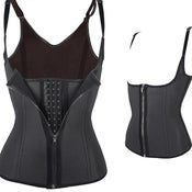 Image of Corset Vest with zipper