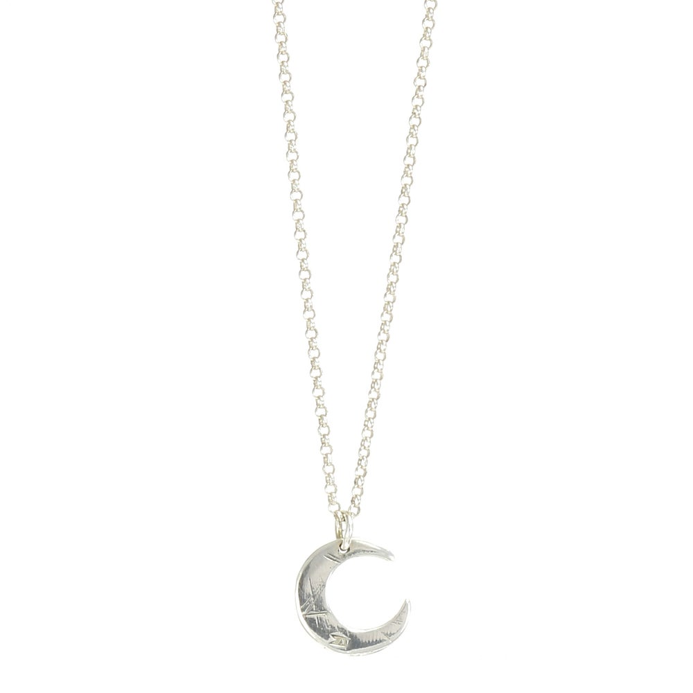 Image of Silver PETITE LUNE Necklace