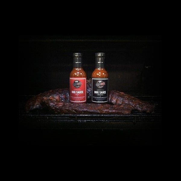 Image of Memphis Style BBQ Sauce - 1/2 Case (Original and Spicy)