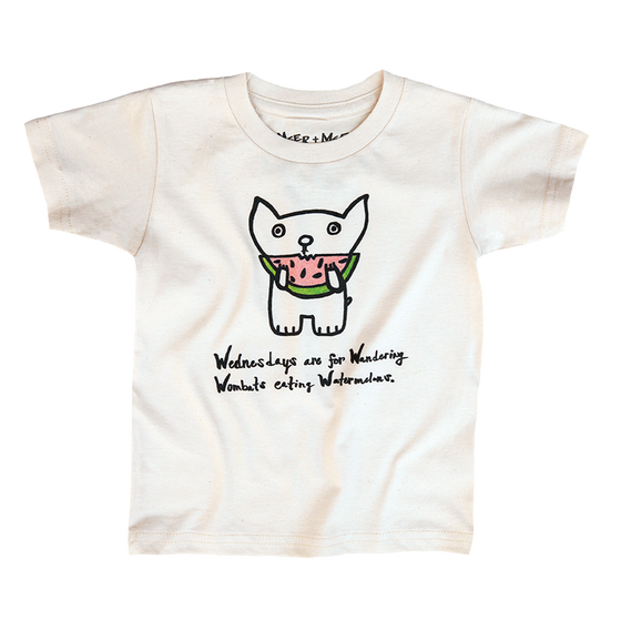 Image of WOMBAT WEDNESDAYS TEE
