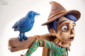 "Image of ""The Scarecrow"" - Original Sculpture"