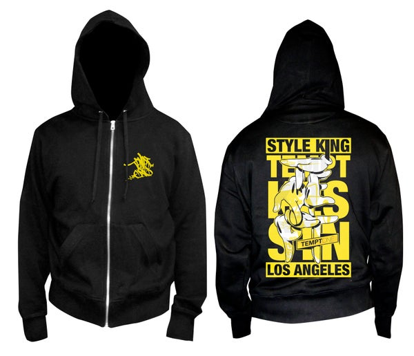 "Image of LIMITED EDITION ""TEMPTxHANDS"" HOODIE  by OG SLICK"