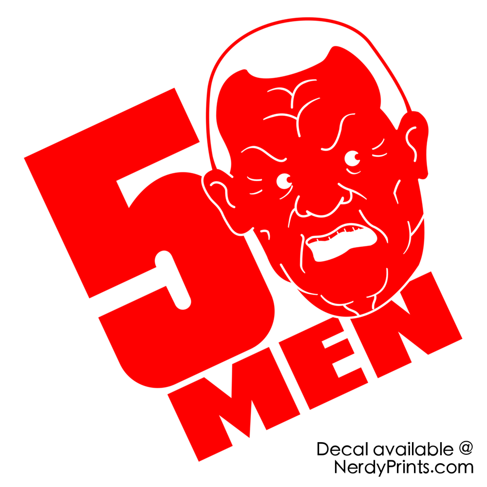 Image of King of the Hill/50 Cent Mashup Decal - Cotton Hill