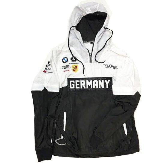 "Image of Club Foreign Germany Race Windbreaker Jacket ""Detachable"""
