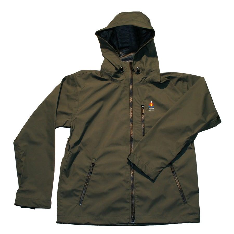 Image of Antero II Plus Hardshell Polartec Neoshell Jacket Olive