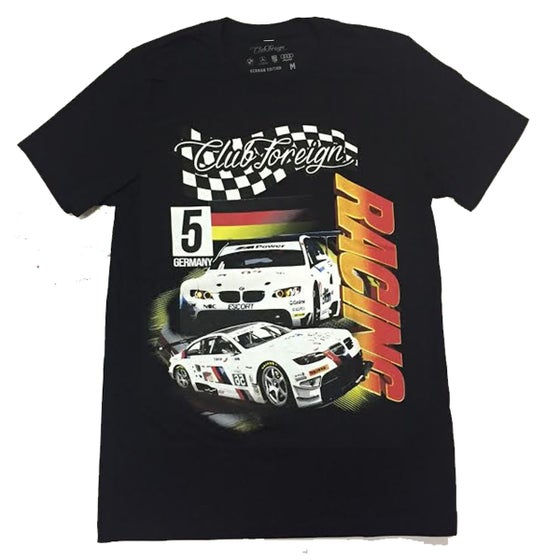 """Image of Club Foreign Racing """"Germany"""" T Shirt """"Black"""""""