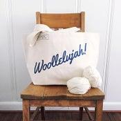 Image of Woollelujah! tote bag