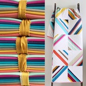 Image of Hang Ten Ombré Fabric Bundle and paper pattern