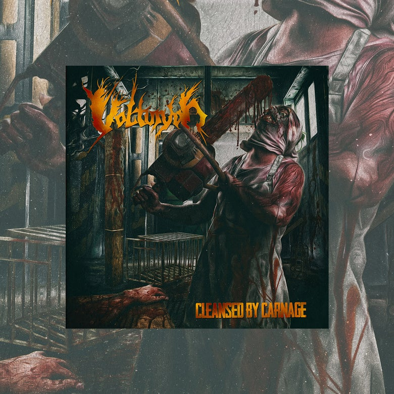 Image of CLEANSED BY CARNAGE CD