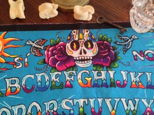 Image of Day of the Dead Spirit Board cloth