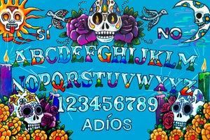 Image of Day of the Dead Spirit Board cloth large version