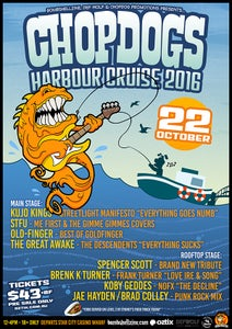 Image of Chopdog's Harbour Cruise October 2016 (Available Now via Oztix)