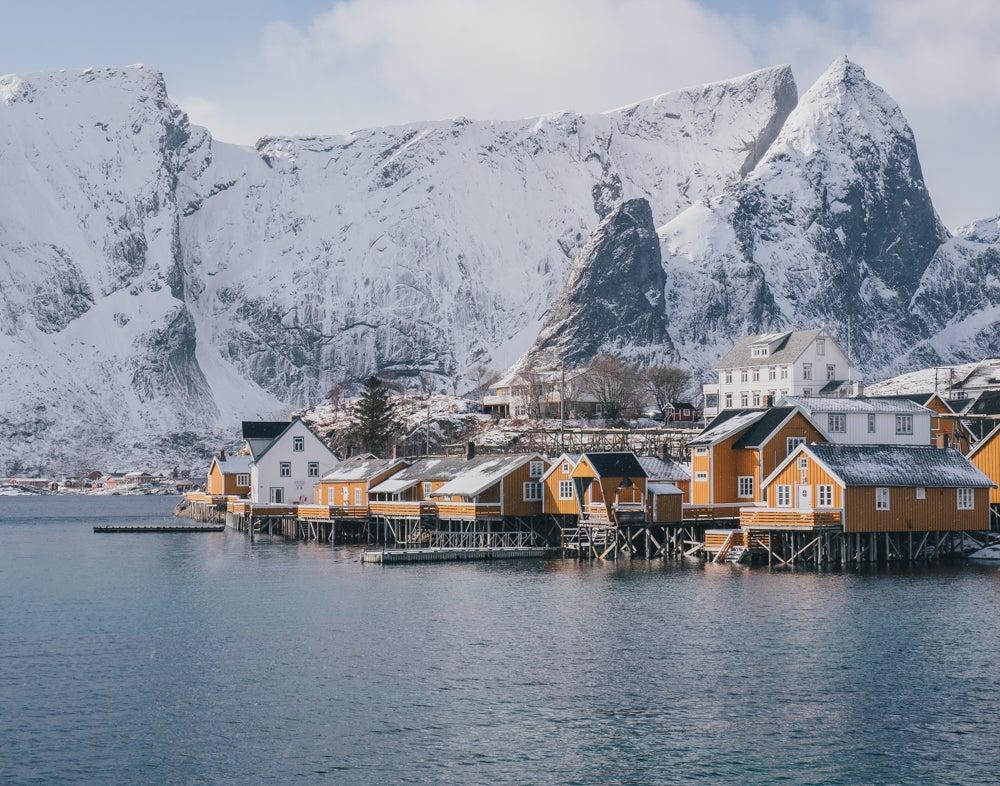 Image of Morning at Sakrisøy