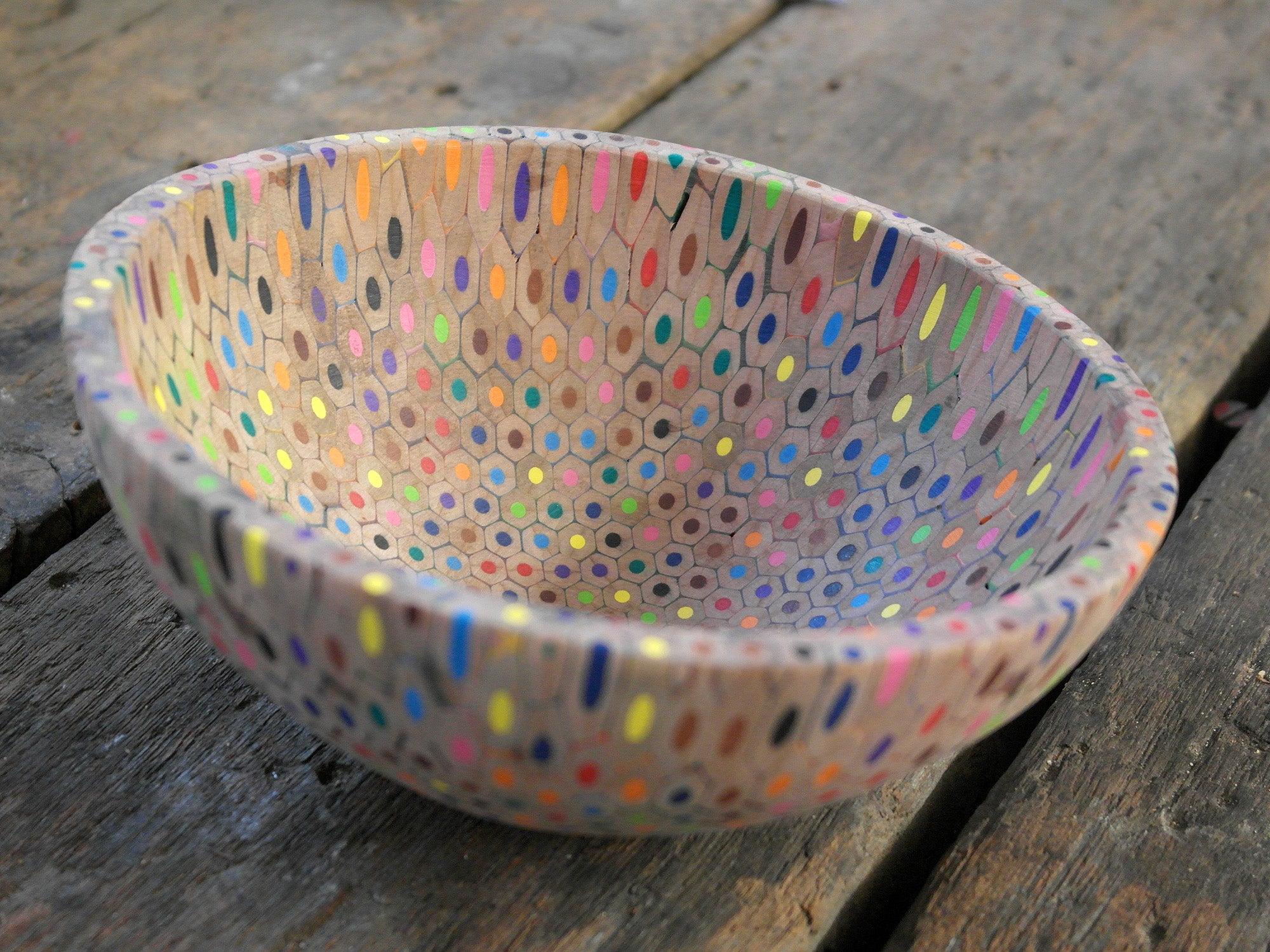 zincwhite  u2014 pencil bowl