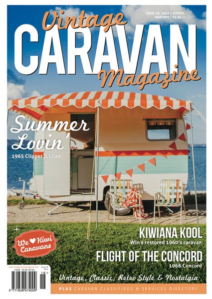 Image of Issue 18 Vintage Caravan Magazine