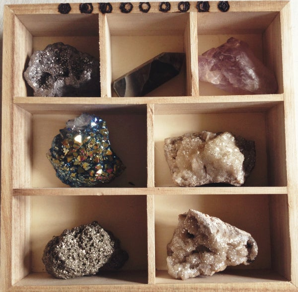 Image of Moon-phase Crystal Display Shelf