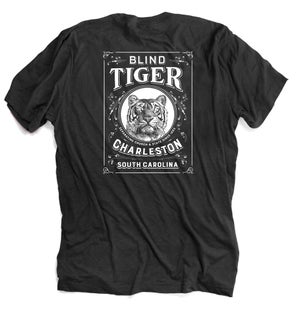 Image of Blind Tiger T-Shirt: Charcoal