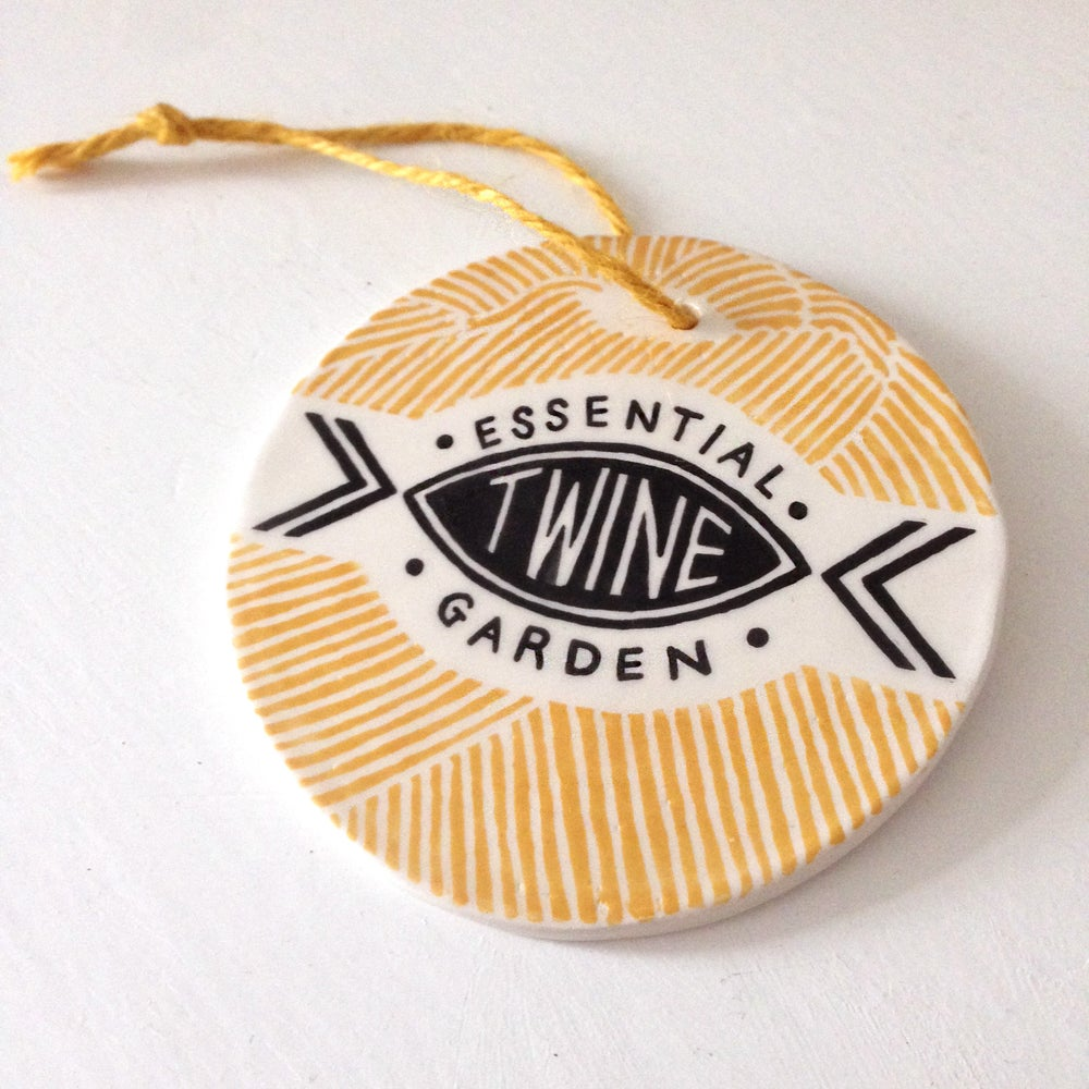 Image of Garden Twine - Ceramic Plaque